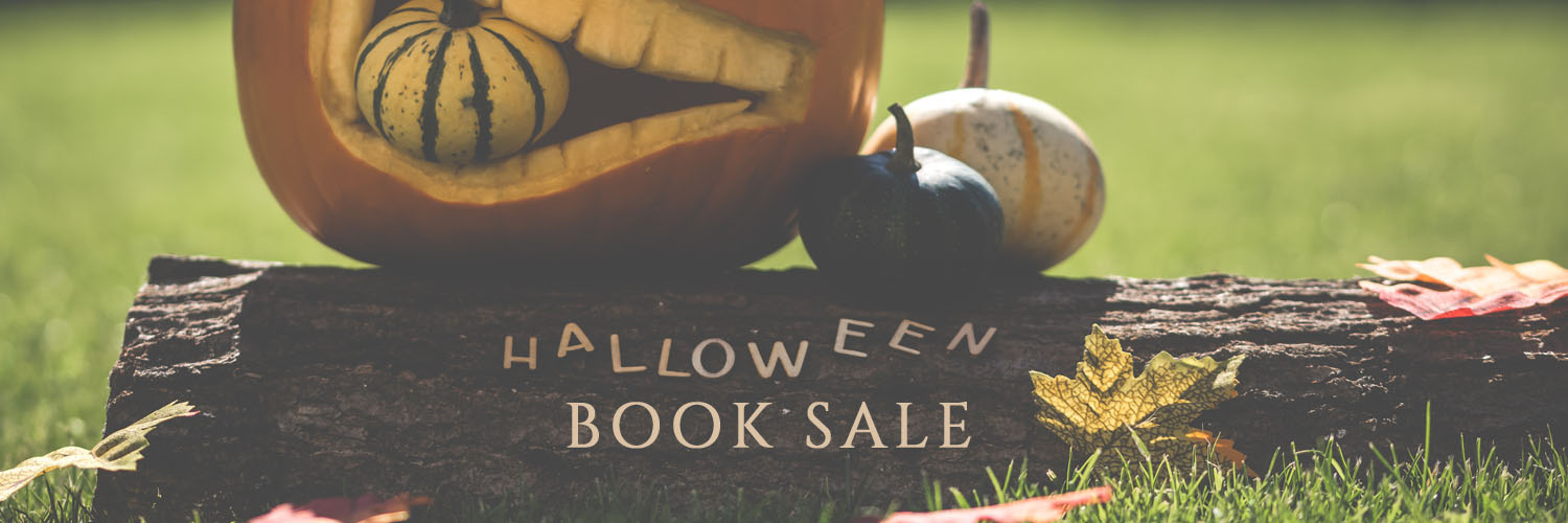 halloween book sale