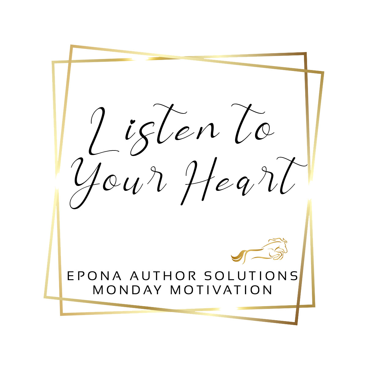 Listen To Your Heart (Mindset Monday)